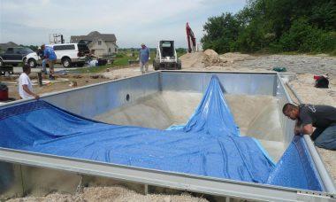 piscina de vinil instalacao